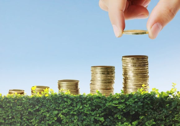 Dividend Income Growing Coins Getty