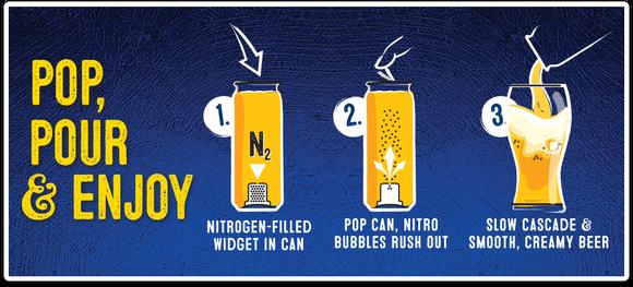 Sam Nitro Boston Beer