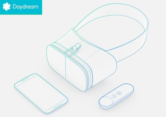 Google Daydream Headset W Logo