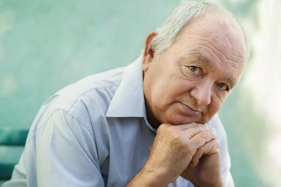 Senior Man Thinking Getty