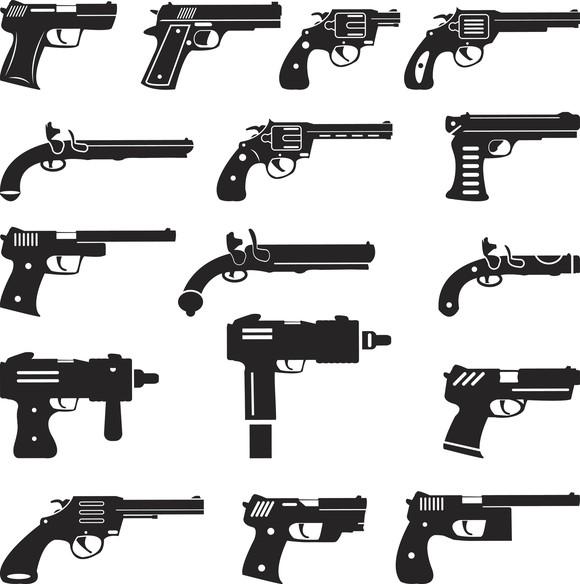 Gun Silhouettes