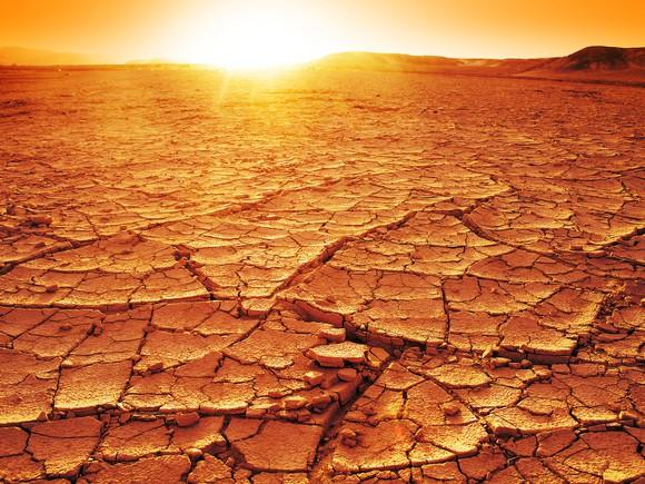 Desert Landscape Getty