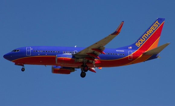 Airline Southwest Airlines Plane Luv Boeing