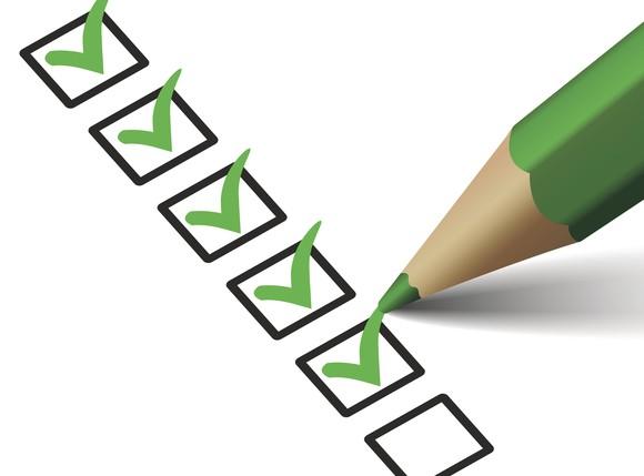 Getty Checklist