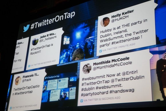 Twitter Projected Tweets