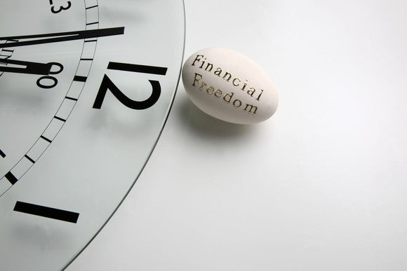 Financal Freedom Nest Egg Roth Ira Clock Getty