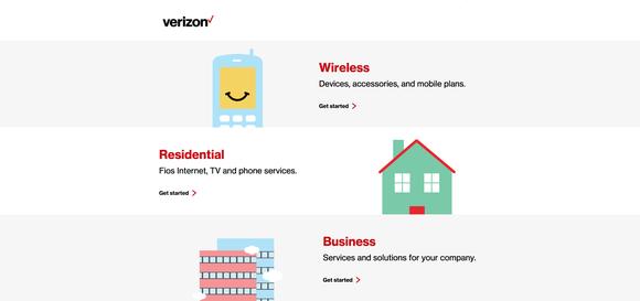 Vz Home Page Verizoncom