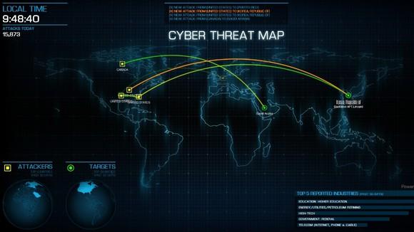 Feye Threat Map Fireeye