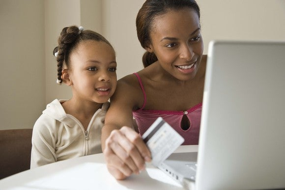 Child Credit Card Mom Gettyimages