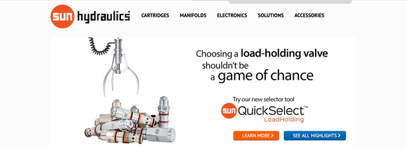 Snhy Quickselect Sun Hydraulics