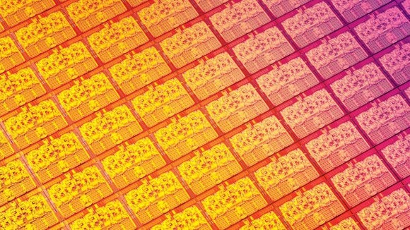Intel Wafer