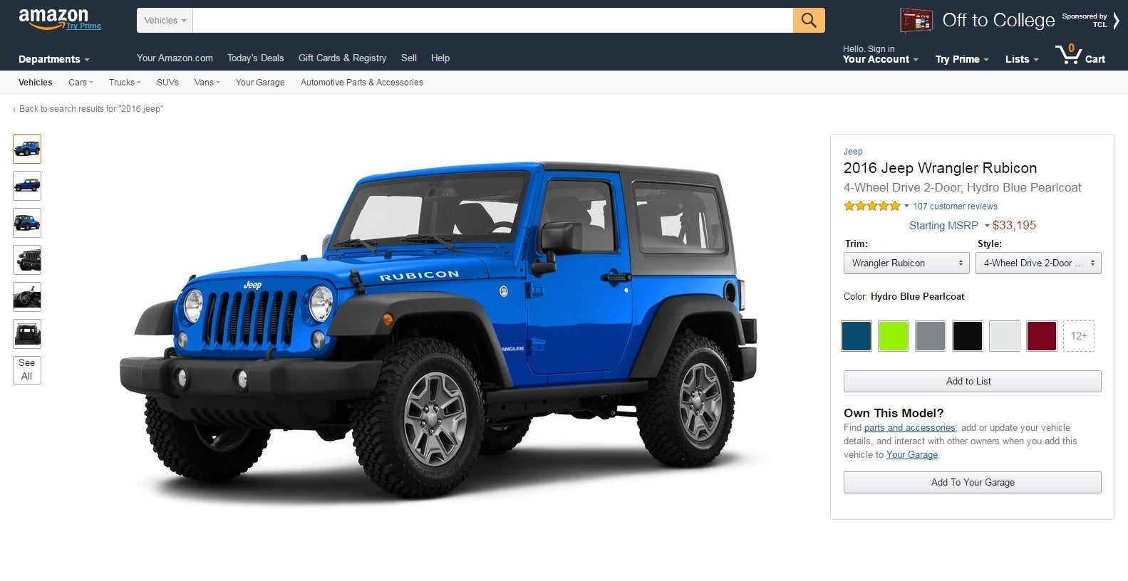 Amazon Vehicles: What It Is and Why Investors Should Care -- The ...