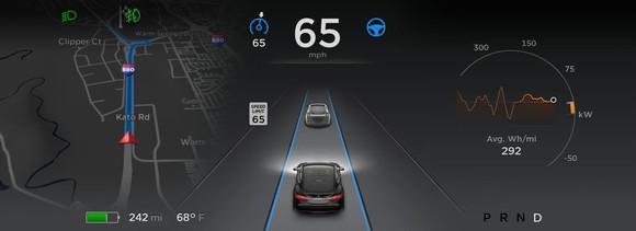 Autopilot Dash Tesla
