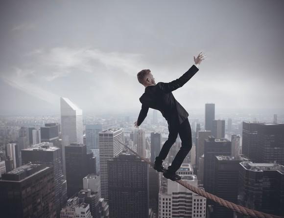 Getty Tightrope Risk