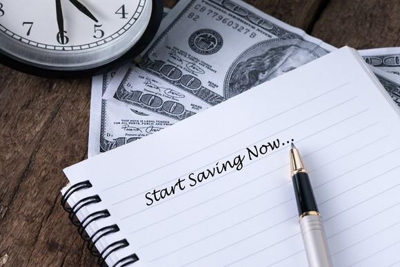 Retirement Start Saving Now Clock And Money Getty