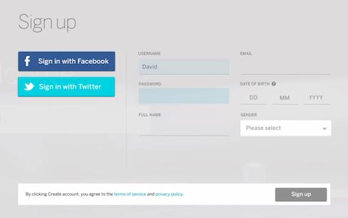 Myspace Credentials Screenshot