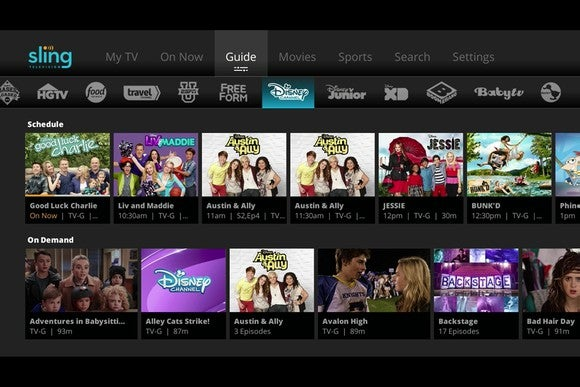 Sling Tv Dish Network Guide