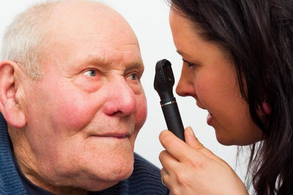Senior Eye Doctorgettyimages