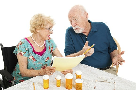 Couple Discussing Medicare