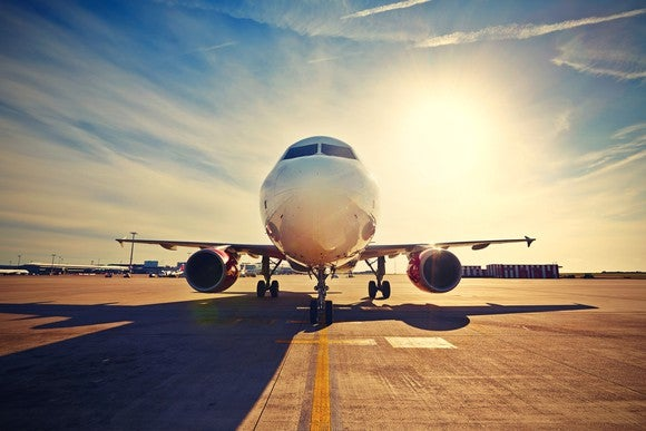 Commercial Airplane Vacation Lease Getty