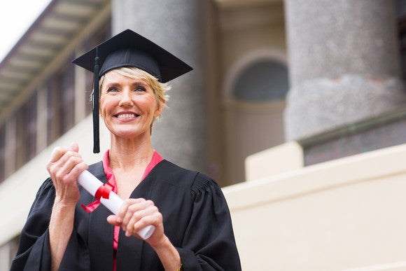Retiree Graduate College Gettyimages