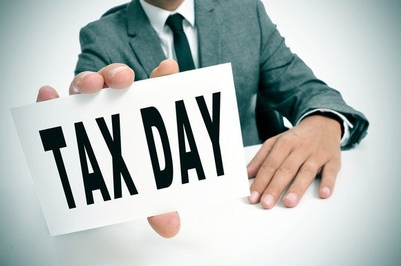 Tax Day Income Taxes Irs Extension Getty