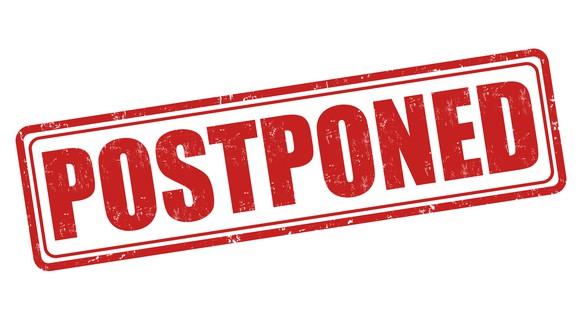 Getty Postponed