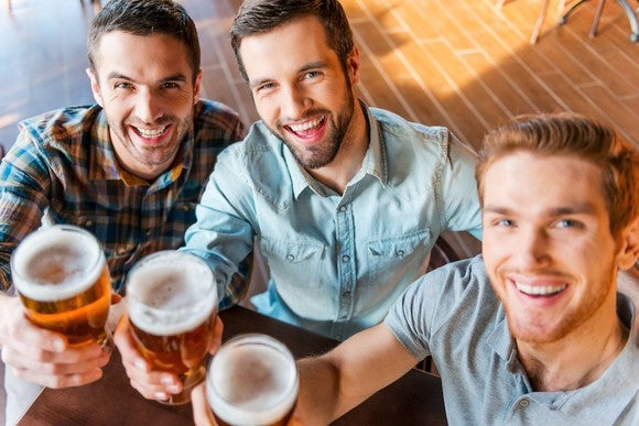 Beer Toast Celebrate Cheers Getty Drinking Alcohol
