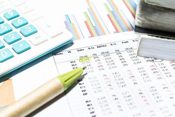Stock Market Research Financial Data Calculator Getty
