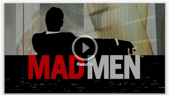 Netflix And Mad Men Screenshot