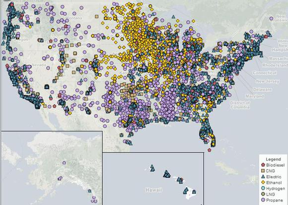 Alternative Fueling Stations In Us