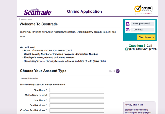 scottrade account title How to Sign Up for a Scottrade Brokerage Account: A Step-by-Step ...