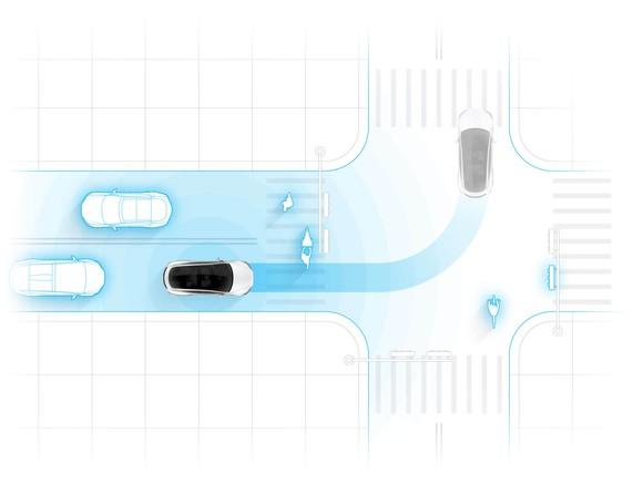 Tesla Self Driving Autonomous