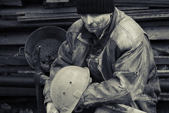 Coal Miner Industry Mining Bw Getty