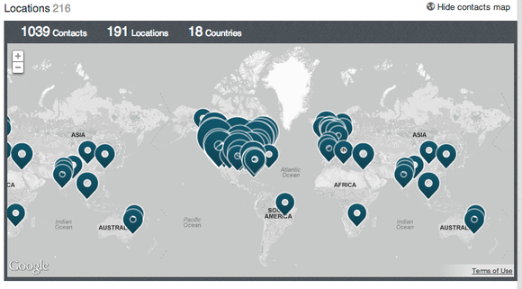 Linkedin Network Screen Shot