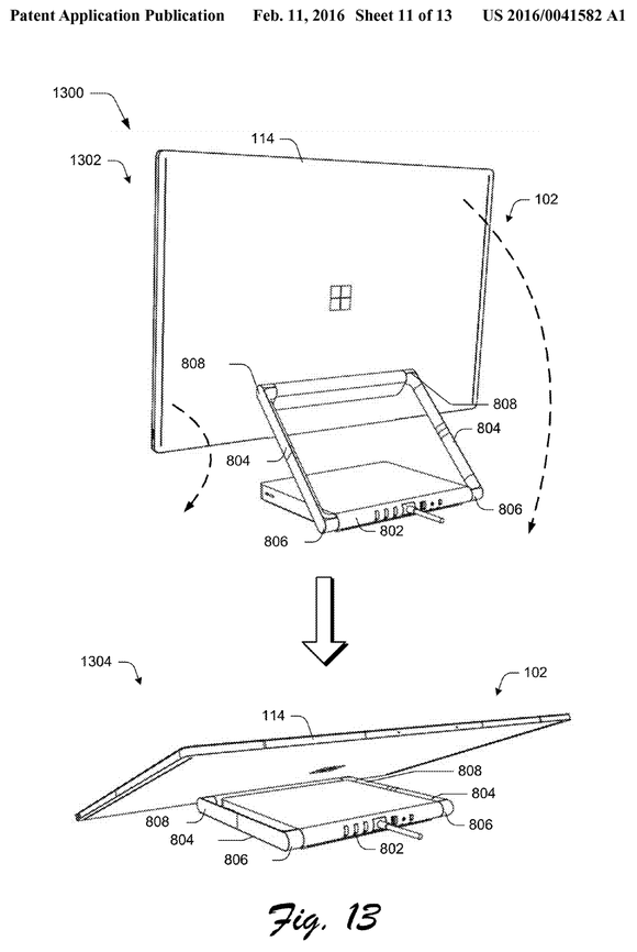 Surface Aio Patent