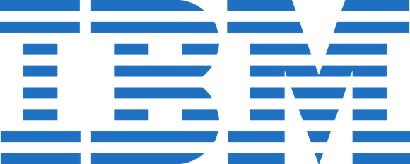 The IBM logo.