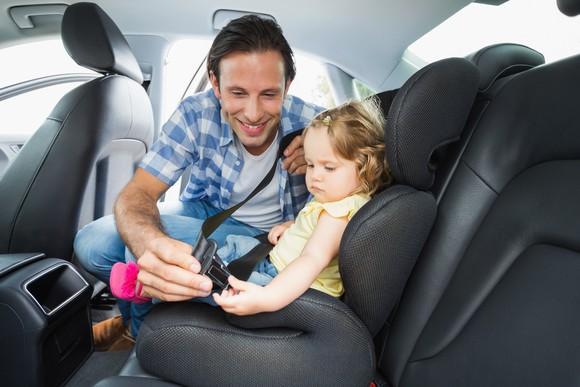 Seatbelt Child Safety Seat Buckle Car Auto Getty