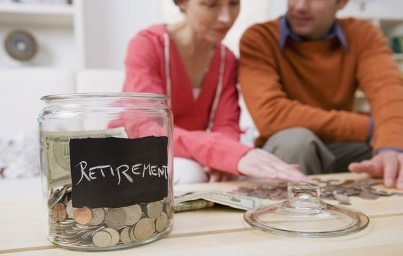Couple Retirement Plan Savings Investments Money Future Goal