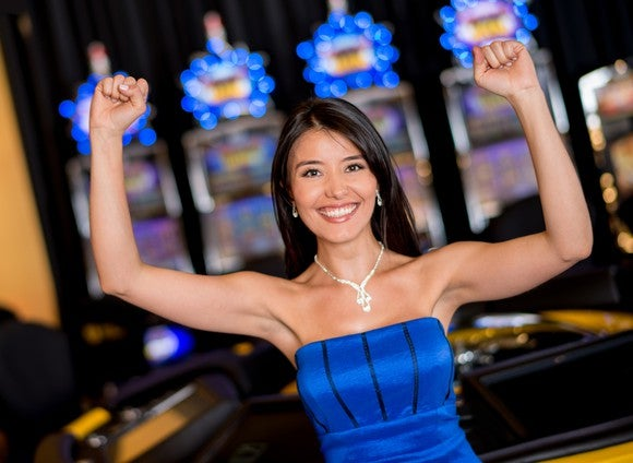 Gambling Casino Asian Female Getty