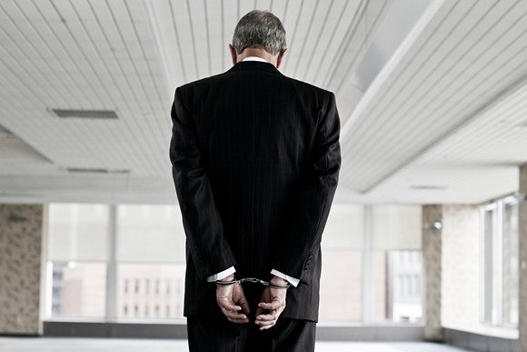 Man In Handcuffs Gettyimages