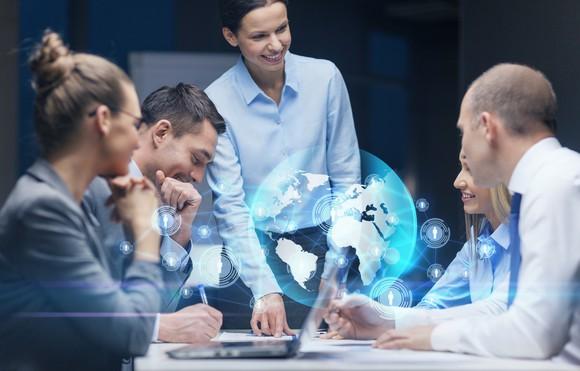 Tech Stocks Technology Communications Team Getty
