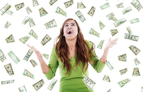 Free Money Windfall Gettyimages