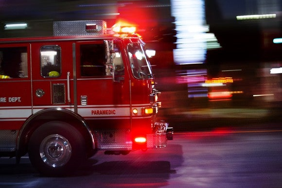 Getty Images Fire Truck