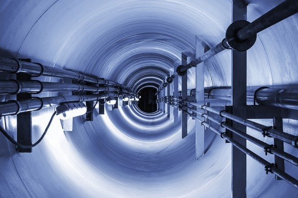Underground Cable Tunnel