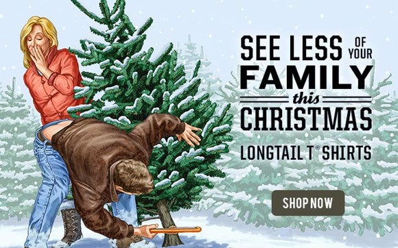 Longtail Cutting Tree Holiday