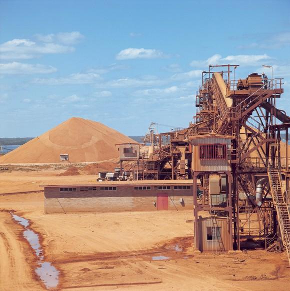 Bauxite Mine