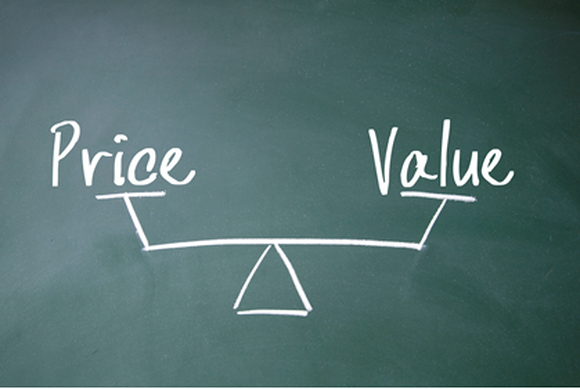 Weighing price vs. value