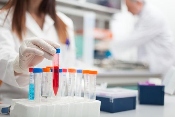 Laboratory Sample Vials Getty