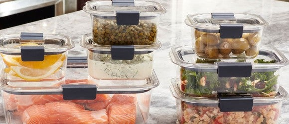 Rubbermaid brand storage containers